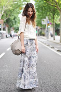 streetstyled:  dansvogue is wearing: Converse, SPARTOO/ Skirt and Bag, Zara/ Top, H&M.