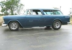 The Chevrolet Nomad was a station wagon model made off and on from 1955 to and a Chevy Van trim package in the late and early produced by the American Stock, Chevy Nomad, Old Wagons, Dodge Magnum, Chevy Van, Classic Bikes, Classic Cars, 1955 Chevy, Car Chevrolet