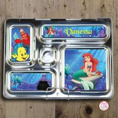 PlanetBox Rover Magnets - Little Mermaid [Little Mermaid magnets - Rover] - $5.00 : Max & Otis Designs, handcrafted gifts from a short-attention span crafter