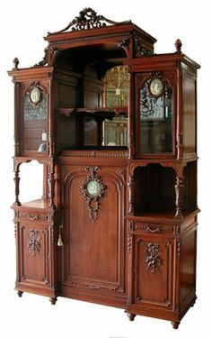 Antique French Cabinet with Wedgwood Plaques c. 1875 Furniture Depot, Furniture Ads, Furniture Dolly, Apartment Furniture, Cabinet Furniture, Classic Furniture, Furniture Projects, French Furniture, Furniture Websites