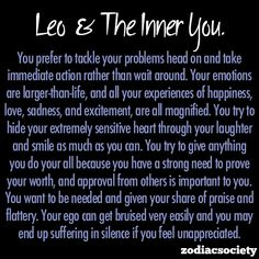 Leo and the inner you.