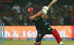 IPL 2017: AB de Villiers returns with a bang, scores 89 against KXIP