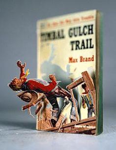 Libros en 3D de Thomas Allen