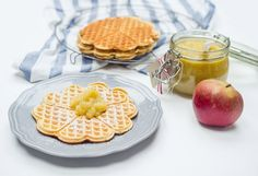 Selfmade delicious Protein waffles // Selbstgemachte Protein Waffeln