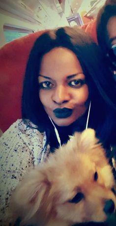 Black busty ebony amateur