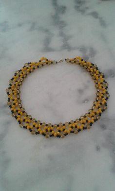 my handmade beaded necklace