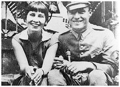 Klaus Von Stauffenberg with his wife Nina.