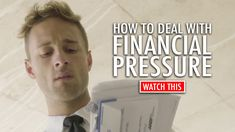 How To Deal With Financial Pressure - Dhar Mann Financial Stress, Financial Goals, Causes Of Depression, Relationship Tips, Relationships, Stress Causes, Motivational Videos, Budget Planner, You Gave Up