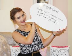 Meg's favourite product is birthday suit creaseless cream eyeshadow...what's yours? #myfirsttime