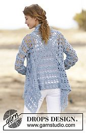 Ravelry: 162-5 Spring Bliss pattern by DROPS design.. Free pattern!