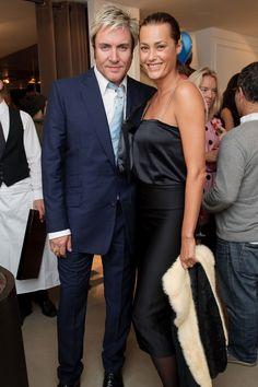 Yasmin and Simon Le Bon on 17 September 2008.
