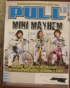 BMX Racing Magazine Pull Vol. 3 Issue 4 Mini Mayhem