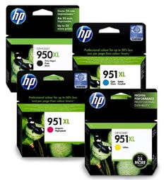 HP950XL & HP951XL Full Set of Original High Capacity Printer Ink Cartridges HP 950XL / HP 951XL - Fits HP Officejet Pro 8100, 8600, 8600 Plus & Full Set of Original High Capacity Printer Ink Cartridges HP / HP - Fits HP Officejet Pro 8100, 8600, Plus, HP950XL HP951XL 950XL 951XL 8600 - HP950XL & HP951XL Full Set of Original High Capacity Printer Ink Cartridges HP 950XL / HP 951XL – Fits HP Officejet Pro 8100, 8600, 8600 Plus. Supplied with a VAT receipt and covered