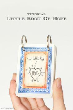 "Hopeful Honey | Craft, Crochet, Create: DIY ""Little Book of Hope"""