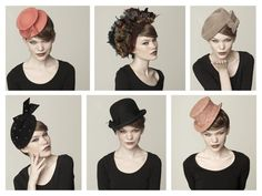 Elegant Woman's Fashion Hats