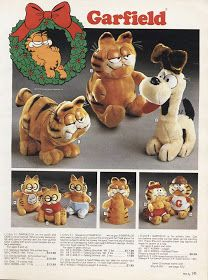 Vintage Garfield Toys Catalogue Page 1980s Christmas, Old Christmas, Christmas Catalogs, Christmas Books, Vintage Christmas, Garfield Christmas, 1980s Toys, Retro Toys, Vintage Toys