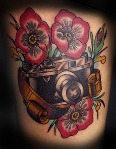 I don't really go in for old-school style tattoos, but I love this.
