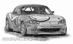 Our new drawing on Miata from enduro Team Polo Shirt, T Shirt, Mazda, Automobile, Racing, Cars, Awesome, Supreme T Shirt, Car