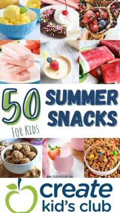 Healthy Summer Recipes, Healthy Snacks, Snack Recipes, Summer Kids Snacks, Easy Homemade Snacks, Delicious Fruit, Easy Food To Make, Convenience Food, Club