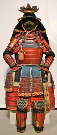 Japanese samurai armor.                                                                                                                                                                                 More