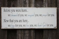 Custom Handpainted Rustic Wooden Sign  Before by RusticPineDesigns, $35.00