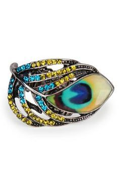peacock ring - Google Search