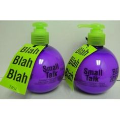 TiGi BedHead Small Talk Hair Serum. Easy to use and a must have.