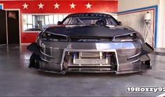 ps: The Demon On 4 Wheels: Brill Steel' Carbon V8 S14....