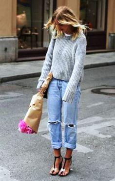 Jeans, πουλόβερ κι έτοιμες | Jenny.gr