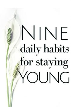 YOUTHFUL: ANTI-AGING HABITS TO ADOPT NOW - The Health Minded Form these 9 daily habits to stay young and vibrant to live the active life you desire.Form these 9 daily habits to stay young and vibrant to live the active life you desire. Healthy Living Tips, Healthy Habits, Healthy Tips, How To Stay Healthy, Healthy Recepies, Wellness Tips, Health And Wellness, Women's Health, Health Care