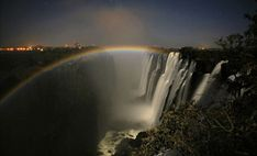 The lunar rainbow in Victoria Falls is an amazing natural phenomenon. Over full moon the light creates a moonbow - Only seen in a few places around the world! Places Around The World, Around The Worlds, Victoria Falls, Natural Phenomena, Photo Essay, Fall Photos, Ciel, Rafting, Wonders Of The World