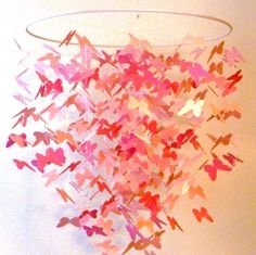 how to make a butterfly mobile for baby bed - Google Search