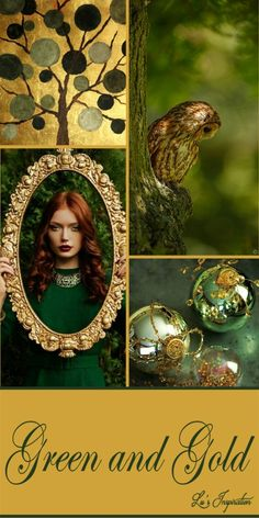 GREEN AND GOLD ~~