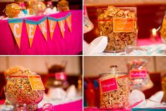 This is so John and I!!! --- Pink and orange modern, eclectic wedding_048