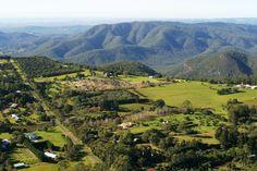 A view of Tamborine Mountain