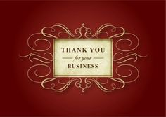 Thank you for your business. Send this card to clients or to new homeowners. Add photos inside. Send a card for $1.98 when sharing from Sendcere.com