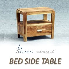 Bed side #table from Indian art furnitures is an indispensable piece of furniture for your bedroom. #Indianart #furnitures