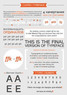 9 Free Fonts you Must Download #fonts #casper