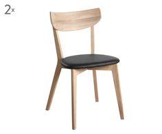Stuhl-Statement: Mit dem Modell AMI von Rowico gelingt ein stilsicherer Akzent! Das Möbelstück ist aus geseiftem Eichenholz gefertigt und mit einer dunklen Sitzfläche ausgestattet. Das Besondere liegt aber nicht nur in den schönen Materialien, sondern auch im Design: Der puristische Skandi-Look erfreut die Herzen täglich und ist mit einer Prise Retro veredelt!