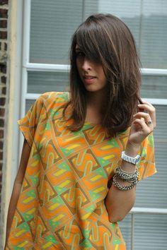 Medium Length Bangs - Hairstyles and Beauty Tips