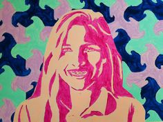 The Calvert Canvas: Adventures in Middle School Art!: Warm & Cool Tessellation Portraits