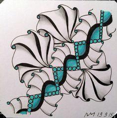 Doodles Zentangles, Zentangle Patterns, Zen Doodle, Doodle Art, Dragonair, Crafty Fox, Tangle Art, All Art, Mandalas