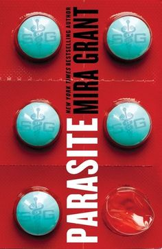 Parasite by Mira Grant - AWESOME book cover design.