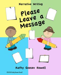 Narrative Writing - Please Leave a Message - FREE