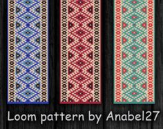 Pattern made with size 11/0 Miyuki Delica seed beads Approx width: 1.12 (21 columns) Approx length: 7.09 Technique: Loom or Square stitch Colors: 3  Pattern includes: - Large colored numbered graph paper - Bead legend (numbers and names of delica beads colors ) - Word chart - Pattern preview  PLEASE NOTE: !!! PATTERN DOES NOT CONTAIN ANY INSTRUCTIONS OR MATERIALS !!!  1 PDF file (Instant download, link is available once your payment is confirmed)  This pattern is for personal use only. Do…