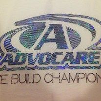 Are you an Advocare representative? Get NOTICED in this eye catching BLING! Perfect for any event you may be at & have your business stand out!  www.allthingselle.net  www.facebook.com/all.things.elle
