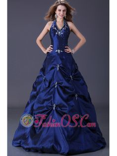 Cheap Popular Navy Blue Taffeta Prom Dresses with Pick-ups Skirt and Lace Up Back- Navy BlueTaffetaPick-ups SkirtLace Up BackCan be custom made in other color and size. Halter Top Prom Dresses, Navy Blue Prom Dresses, Homecoming Dresses Long, Beaded Prom Dress, Prom Dresses For Sale, A Line Prom Dresses, Ball Gown Dresses, Dresses 2013, Formal Prom