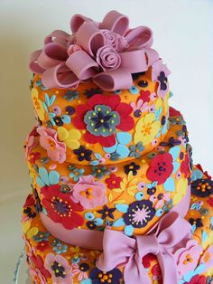Colorful cake | Flickr - Photo Sharing!