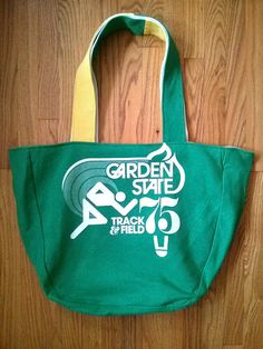 OKA BAG - Green+Yellow+White // 100% Handmade // Repurposed // Upcycled // Reversible // Tote Bag // Grocery Bag // Book Bag