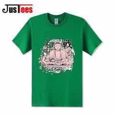 T Shirt Buddhist Karma Peace or War Men Black T Shirt short sleeve